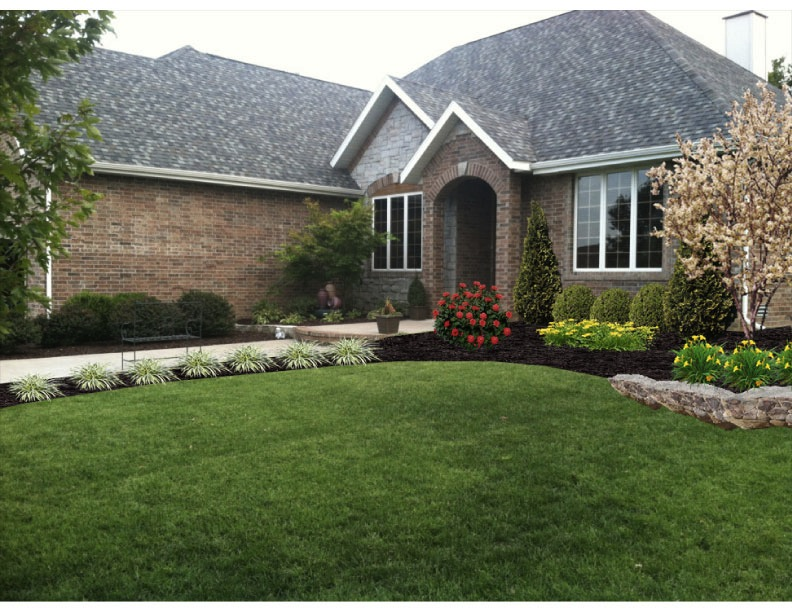 Landscaping Boulders Springfield Mo : Christmas light installation springfield mo vision