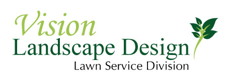 Vision Logo Lawn Service Division Lawn Care