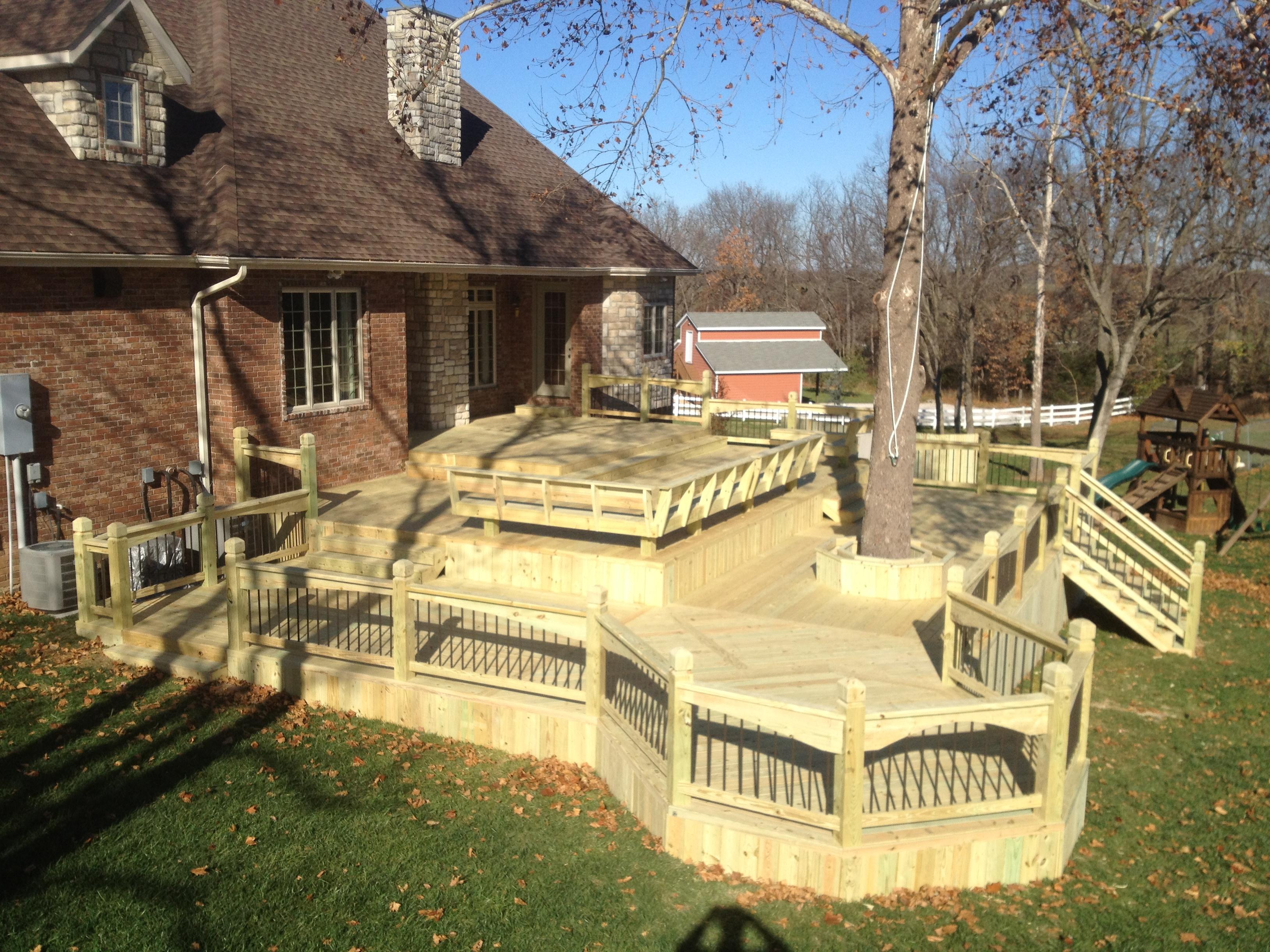 Vision Landscape Design Offers Custom Decks Through The