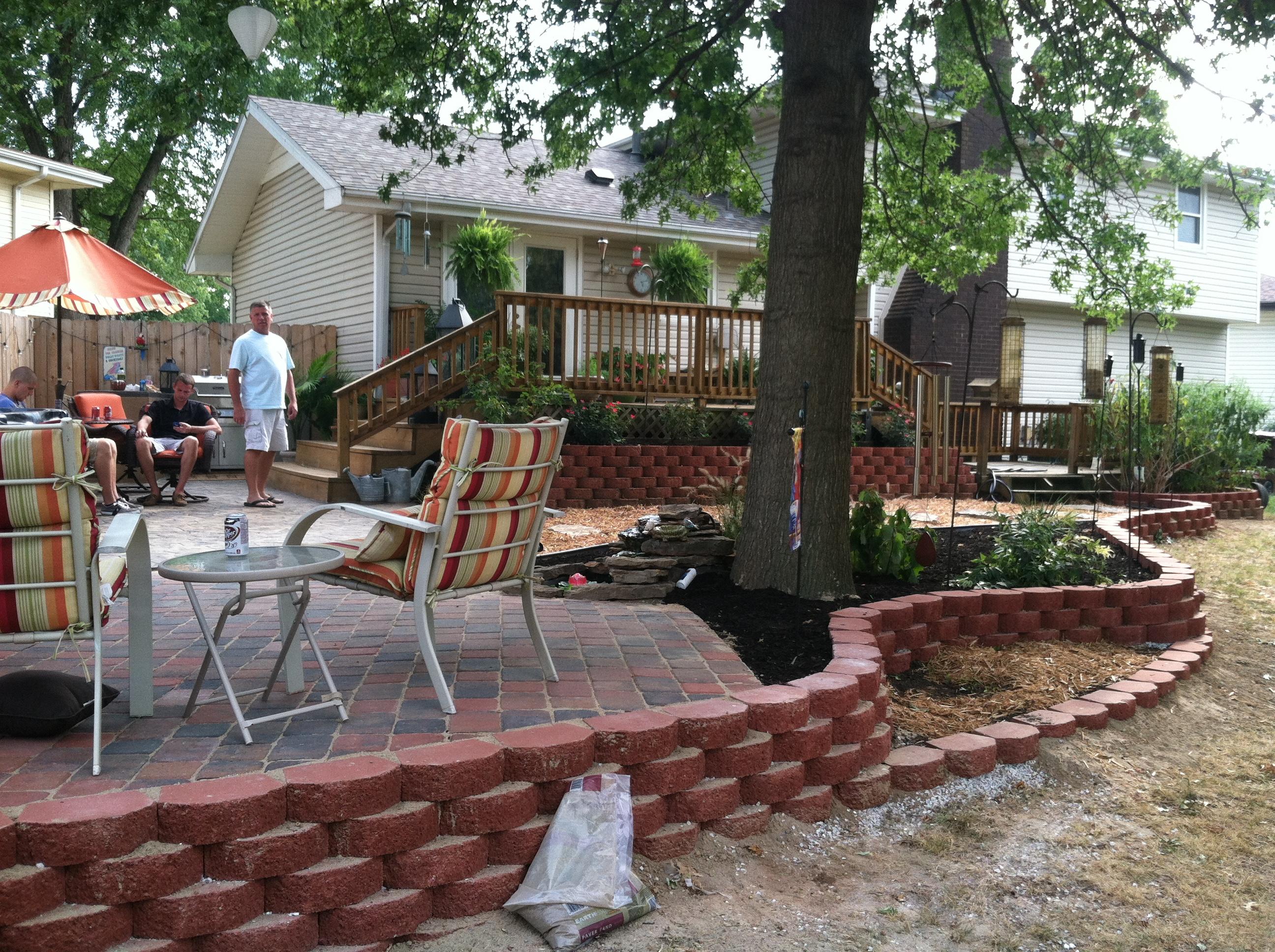 Hardscaping Springfield Mo Vision Landscape Design