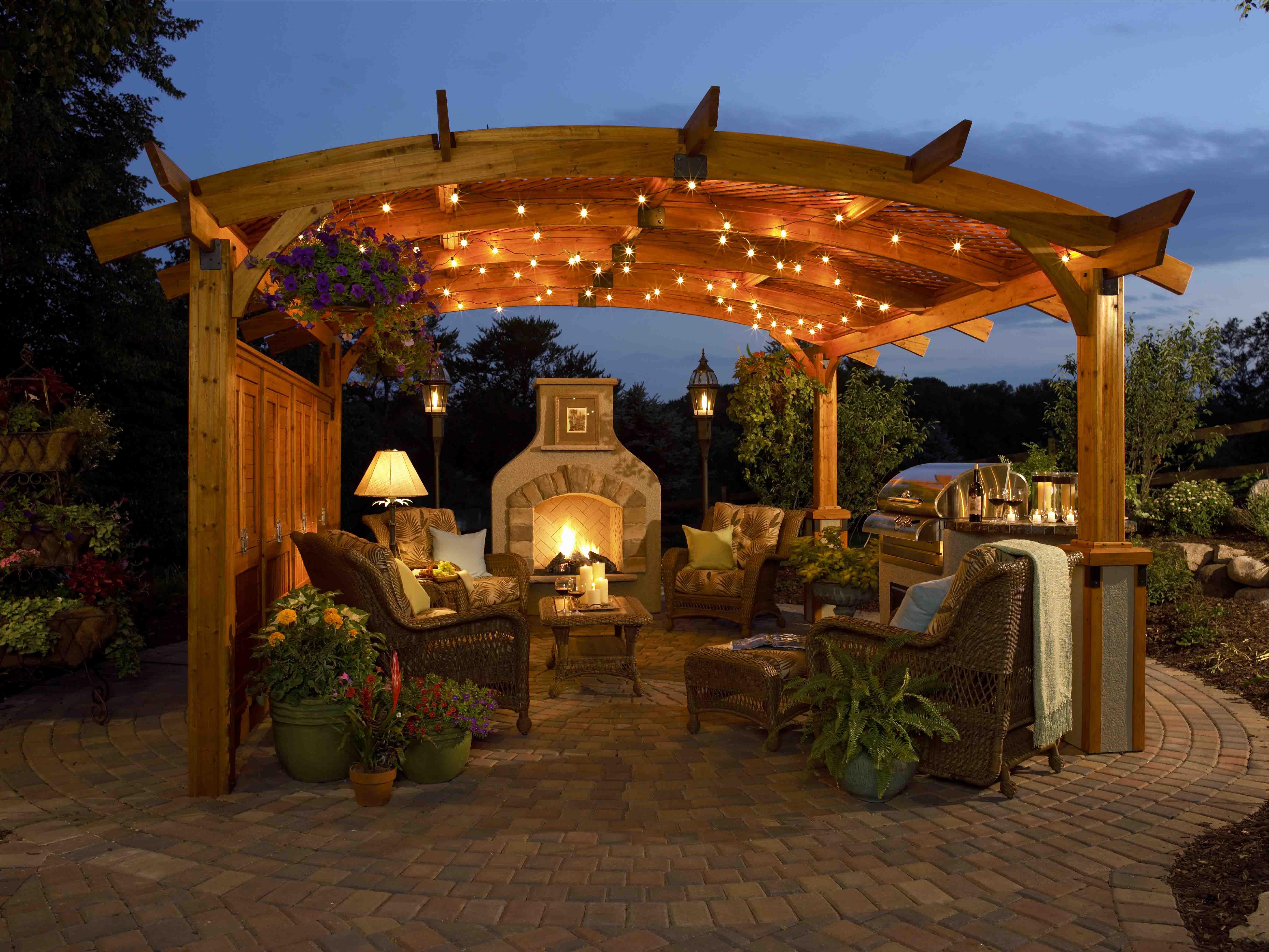Outdoor Living Areas - Vision Landscape - Design & Build on Outdoor Living And Landscapes id=44259